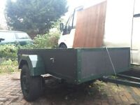 CAR TRAILER 6ft x 3ft READY TO GO