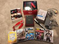 Nintendo Wii mini boxed console & games