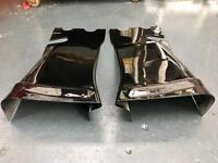 Mini r53 r56 Rear Diffuser in fresh glossy black