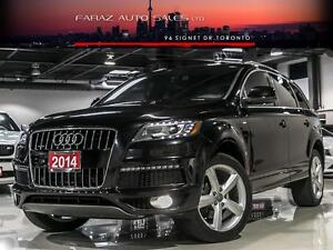 2014 Audi Q7 TDI|S-LINE|TECHNIK|NAVI|BLINDSPOT|REAR CAM|PANO|7P