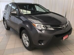 2014 Toyota RAV4 LE FWD, Leather Pkg !