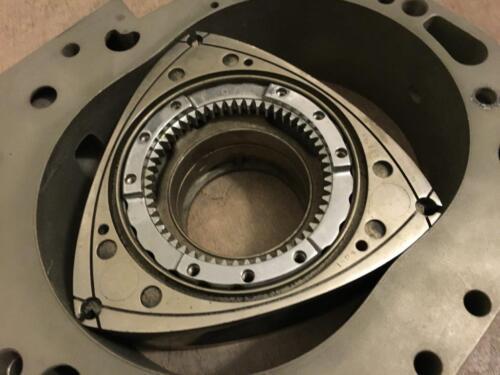 Mercedes-Benz C111 Wankel rotor + housing C 111 gullwing C-111 rotary engine