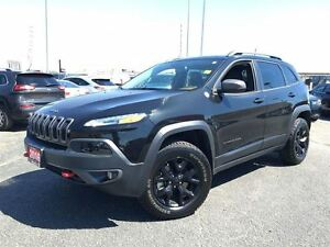 2016 Jeep Cherokee TRAILHAWK**LEATHER**NAVIGATION**BACK UP CAMER