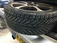 """18"""" alloys and tyres"""