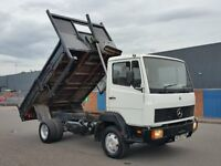 * TIPPER * 1995 Mercedes 814 Tipper - 6 Cylinder - Manual Pump - 6.0 Litre - daf iveco man volvo