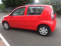 2007 daihatsu SIRION 1.0..... MOT feb 2019 .... new fitted tyres