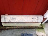 2x concrete lintels £10 each