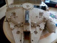 Original 1979 Vintage kenner STAR WARS millenium falcon