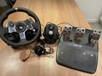 Logitech G920 Wheel, Pedals & Shifter