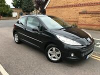 2011 Peugoet 207 Facelift 1.4 Envy 3 Doors Petrol Low Mileage Long MOT Recently Servicedd New Shape