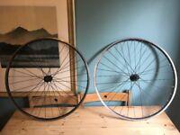 B'Twin Aluminium double wall wheelset