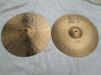 "Cymbals - Paiste Alpha 14"" Medium Hi hats"