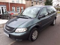 2002 52 REG CHRYSLER VOYAGER 2.5 CRD SE 7 SEATER TURBO DIESEL