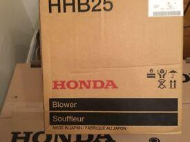 HONDA HHB25 PETROL LEAF BLOWER (NEW IN BOX)