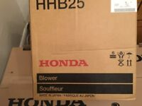 HONDA HHB25 PETROL LEAF BLOWER (NEW IN BOX)