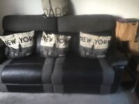 3 seater sofa and xl chair all reclining in very good condition