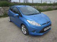 Sporty, low mileage, virtually immaculate Fiesta.
