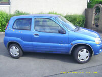 suzuki ignis long mot new parts fitted mega reliable japanese build quality cam chain not belt