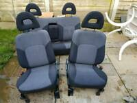 Mitsubishi l200 cloth seats