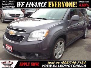 2013 Chevrolet Orlando LTZ 84 KM 7 SEATER HEATED SEATS