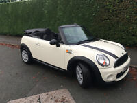 MINI ONE CONVERTIBLE 2012 WHITE EXCELLENT CONDITION