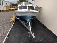 Shetland 395 boat