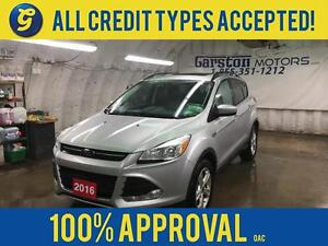2016 Ford Escape SEL*4WD*POWER SUNROOF*LEATHER*BACK UP CAMERA*MI