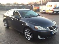 "LEXUS IS 220D 2.2 SE-L TOP OF RANGE,HPI CLEAR,SAT NAV,REVERSE CAMERA,CREAM LEATHER SEATS,18"" ALLOYS"