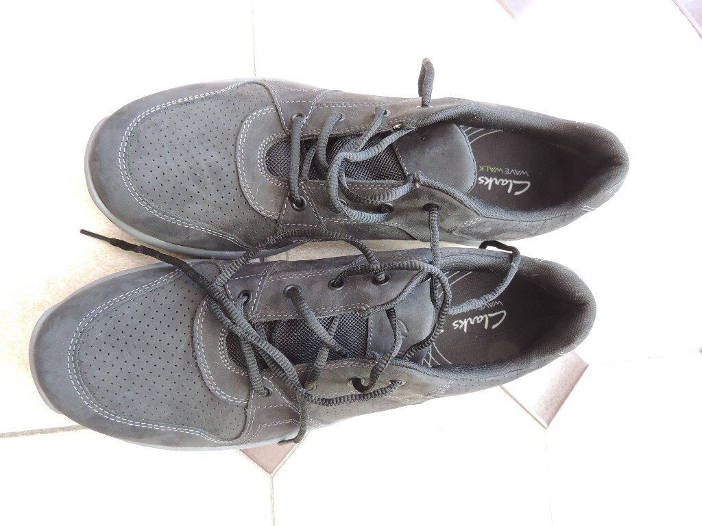 Pair of Clark's Men's Trainers, size 11 and worn only once. Wrong size