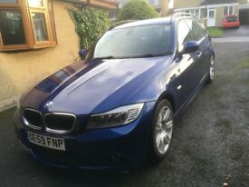 BMW 318d MSport Touring, 2009, 115000 miles, MoT to December 2018. Excellent Condition. £4950
