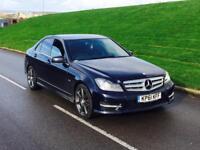 2011 61reg Mercedes-Benz C Class 2.1 C220 CDI Sport Edition 125 **LEATHER,SATNAV,XENON*choice of 2