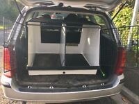 Lintran DB10 double travel crate, secure locks, two keys, good condition