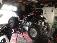 Quad bike , 600cc