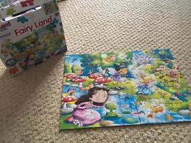 Fairies 45 piece jigsaw