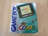 Mint condition,Fully working, boxed and complete Gameboy color with 1 game