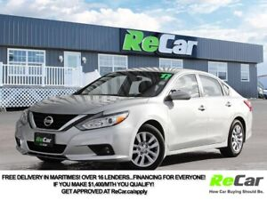 2017 Nissan Altima 2.5 HEATED SEATS   ONLY $64/WK TAX INC. $0...
