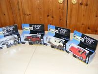 CLASSIC CAR MODELS - 4 CARS
