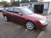** NEWTON CARS ** 04 54 FORD MONDEO 1.8 LX, 5 DOOR, 97,000 MLS, P/S/H, MOT JAN 2018, P/EX POSS, CALL