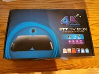 M8 Android 4K TV box.