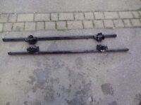 Roof Bars to fit Seat Alhambra, VW Sharon or Ford Galaxy