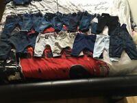 Boys 0-3 bundle of jeans/joggers