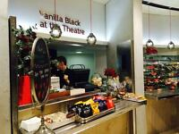VANILLA BLACK CAFE BACK OF HOUSE STAFF WANTED