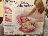 Summer baby bather