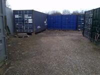 HUGE 40ft x 8ft Shipping Container Storage. Easy 24 hour access & CCTV in a Safe, Clean Area