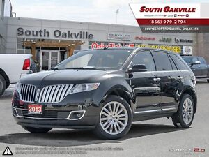 2013 Lincoln MKX | AWD | HEATED LEATHER | NAVIGATION | PANO SUNR