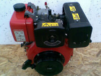 BRAND NEW 6HP DIESEL ENGINE, 300CC, 25mm shaft.