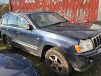 2005-2010 Jeep Grand Cherokee 3.0crd limited Blue / breaking all parts available