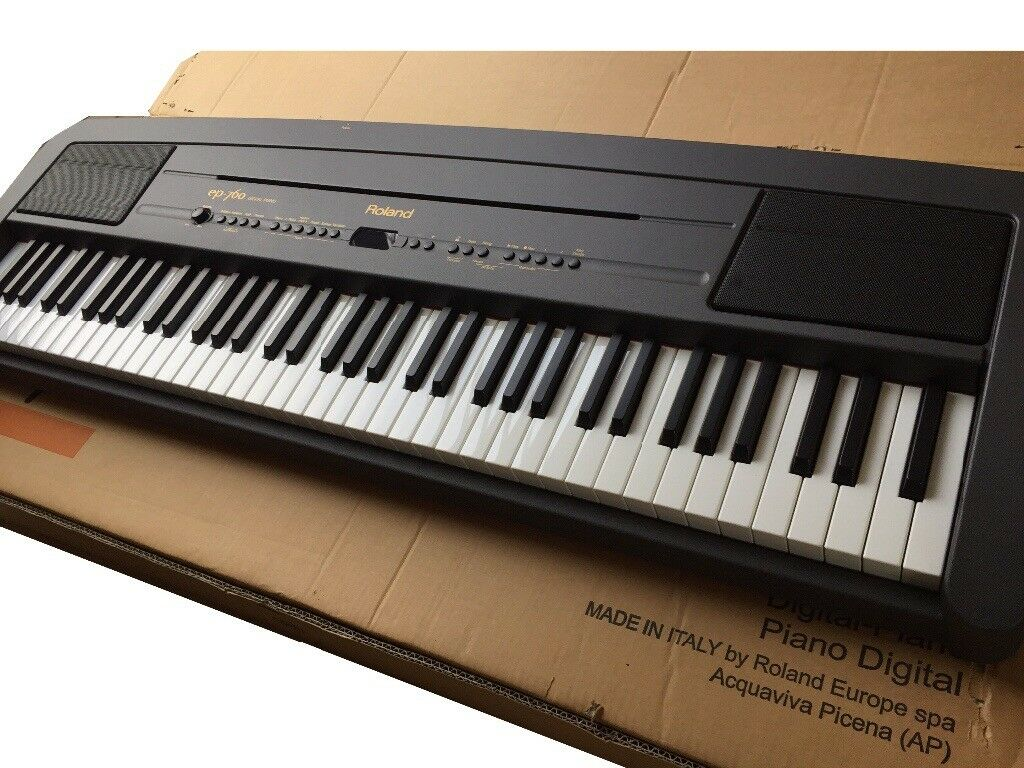 Roland digital piano ep760. Brand new in original packaging. never used.