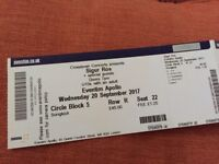 Sigur Ros - Eventim Apollo London 2x tickets