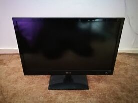"""LG IPS D2342 23"""" Widescreen LED LCD Monitor cinema 3D gaming"""